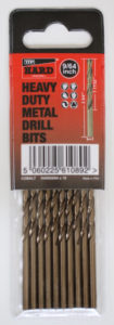 Hard Metal Drills HARD Cobalt drill bits 10 Pack