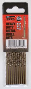 Hard Metal Drills HARD Cobalt drill bits 10 Pack