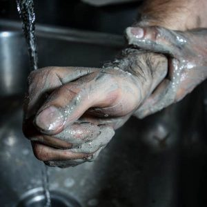 hands-being-washed